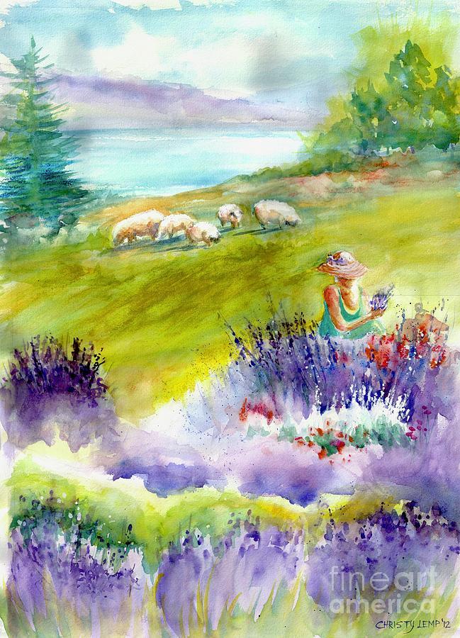 Lavender Festival by Christy Lemp