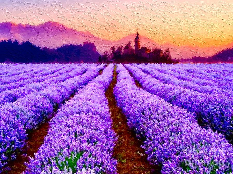 Lavender Fields Forever  by Breena Briggeman