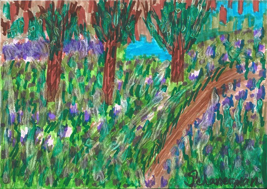 Lavender Fields Forever by Susan Schanerman