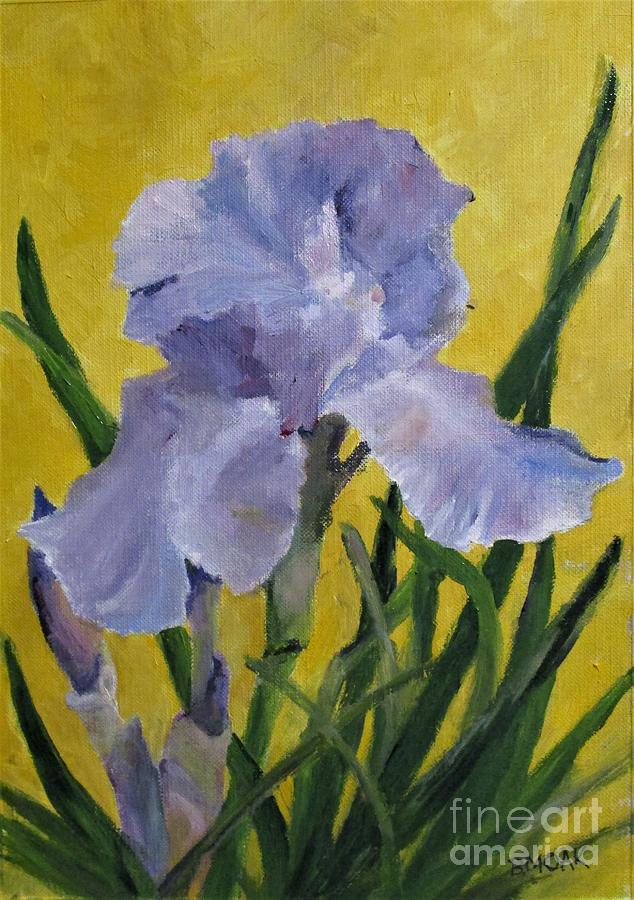 Lavender Iris by Barbara Moak