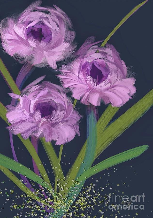 Lavender Posies by Lois Bryan