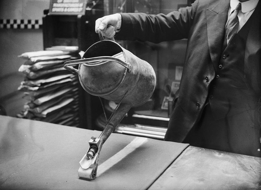 Working Photograph - Lawn Marker by William Vanderson