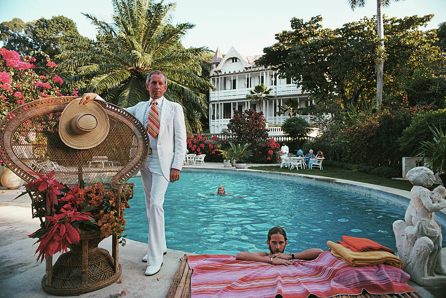 Lawrence Peabody II Photograph by Slim Aarons