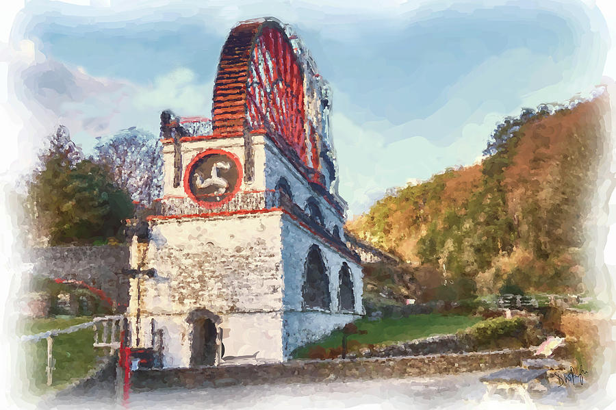 Laxey Wheel 8 by Digital Painting