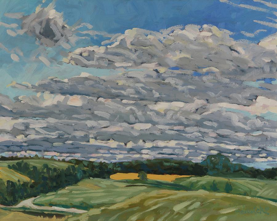 Layer Cake Cloud by Phil Chadwick