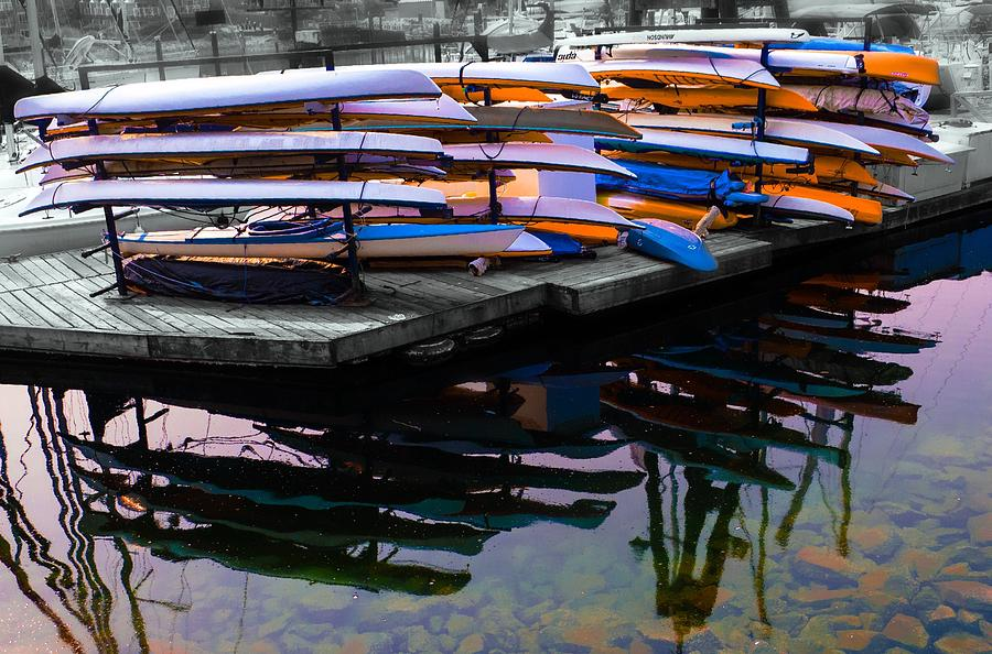 Layers and Layers By the water by Geraldine Gracia