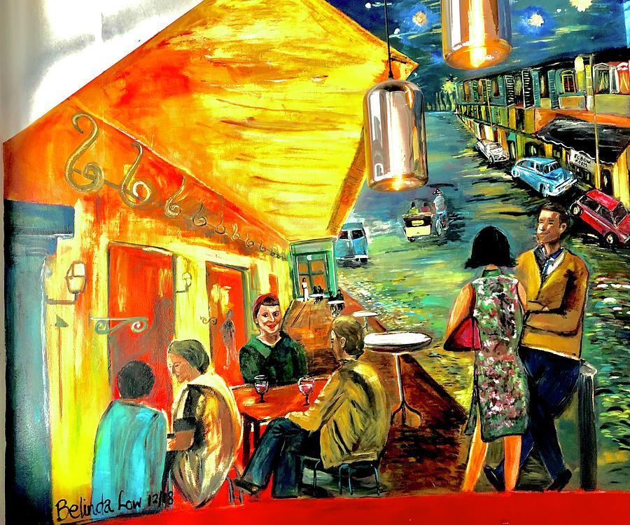 Le Cafe Jaune a Singapour by Belinda Low