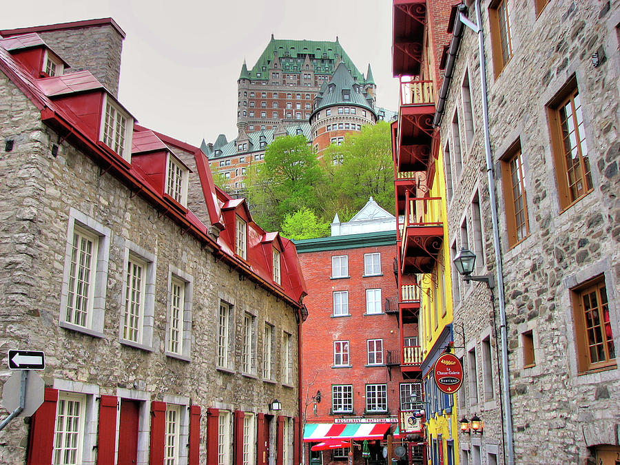 Le Chateau Frontenac - Old Quebec Photograph by Nino H. Photography