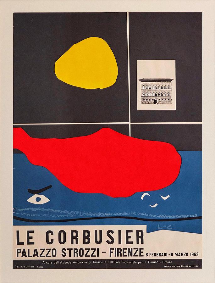 Le Corbusier Exhibition 1963 by Andrew Fare