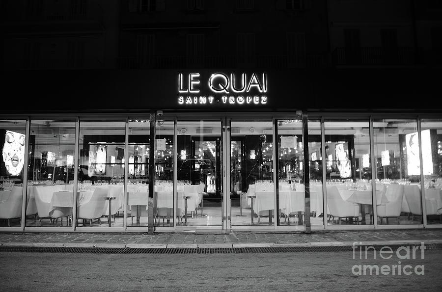 Le Quai Saint Tropez by Tom Vandenhende