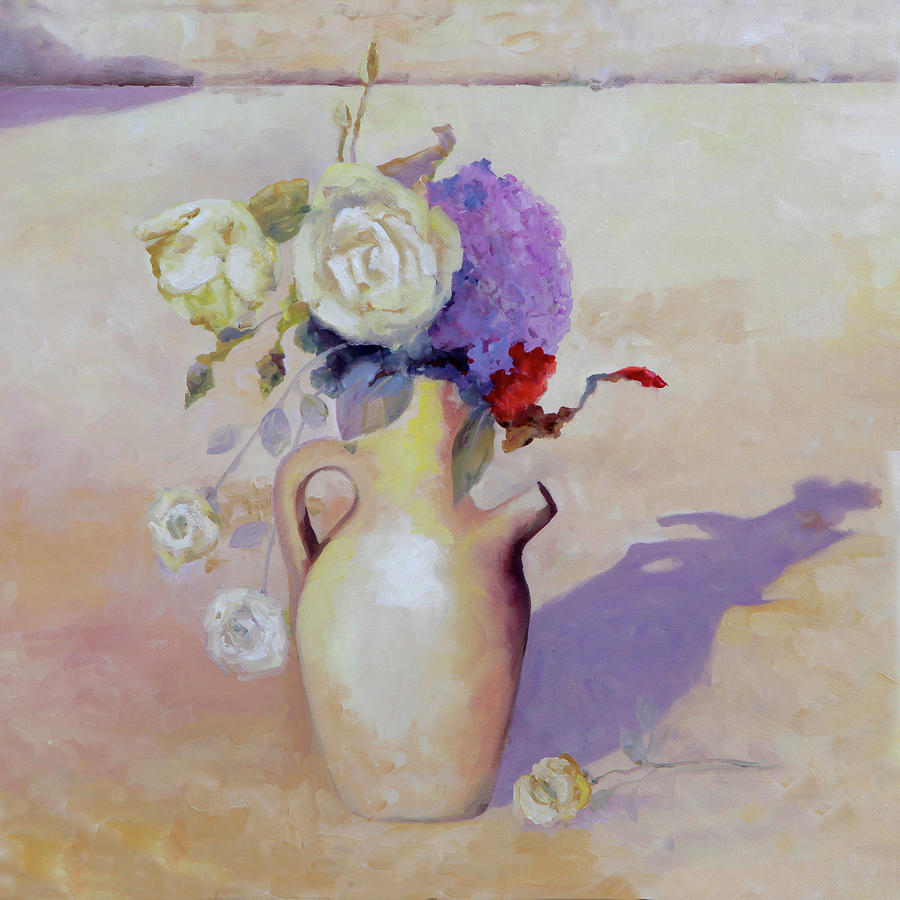 Le Rose Bianche Painting