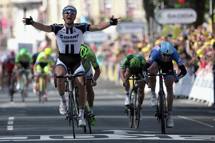 Le Tour De France 2014 - Stage One Photograph by Doug Pensinger