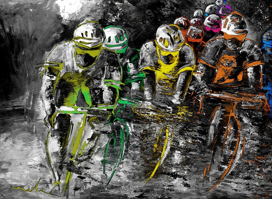 Le Tour 0n Fire 02 by Miki De Goodaboom