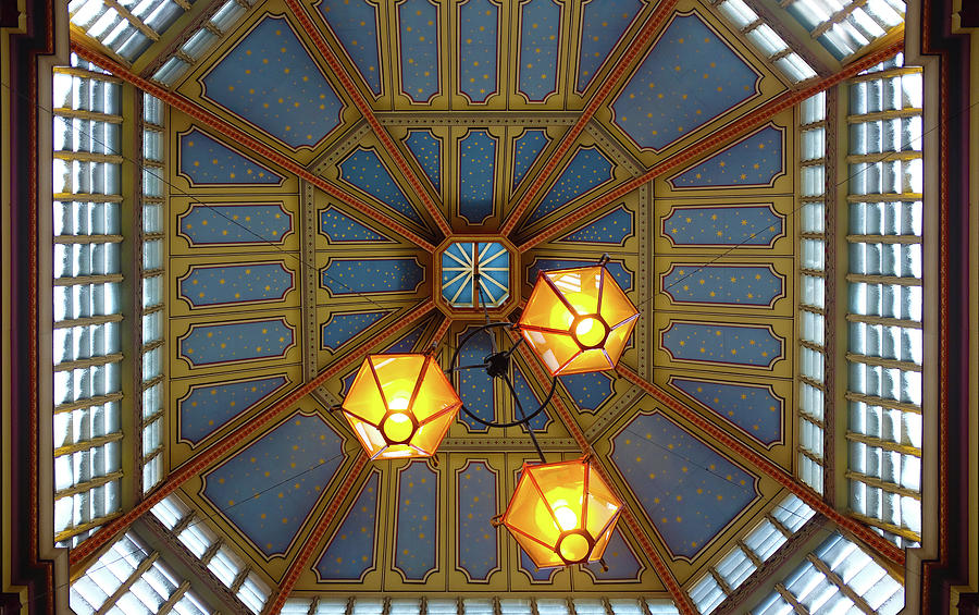 Leadenhall Market Ceiling by Michael Gerbino