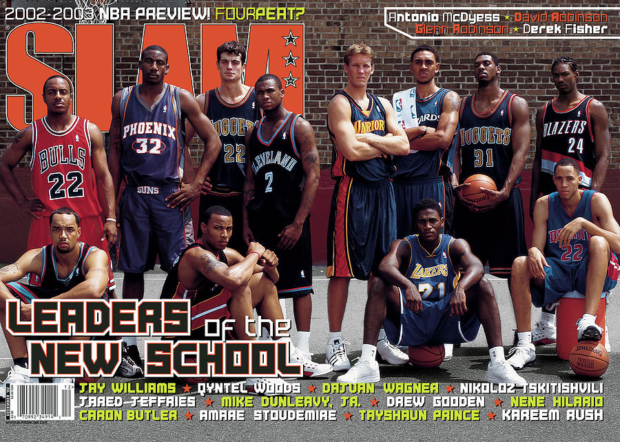 Leaders of the New School SLAM Cover Photograph by Getty Images