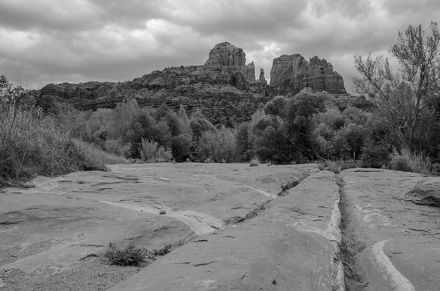 Leading Lines toward Cathedral Rock by Douglas Wielfaert