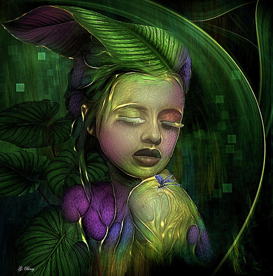 LEAF FAIRY 009 by G Berry