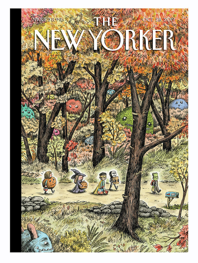 Leaf Peepers Painting by Ricardo Liniers