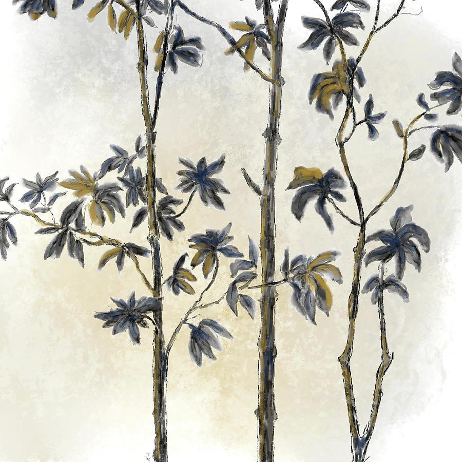 Leafy Treetop II by Ramona Murdock