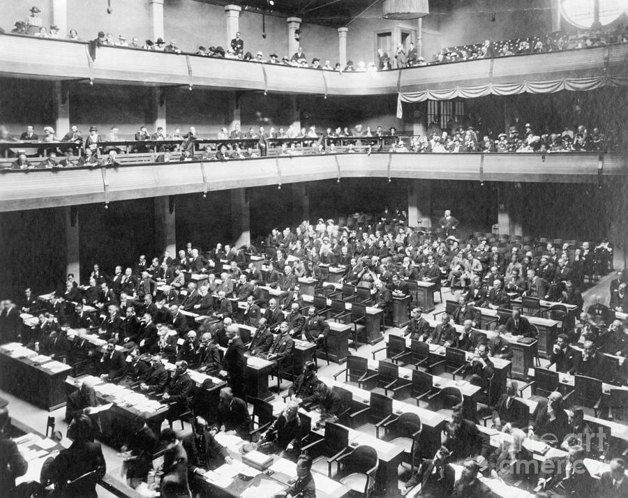 League Of Nations Meeting Photograph by Bettmann