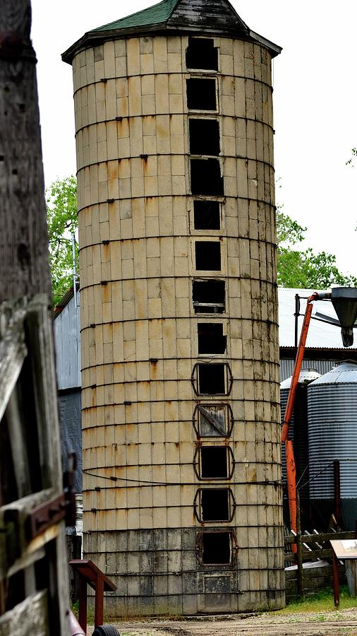 Leaning Silo by Jerry Sodorff