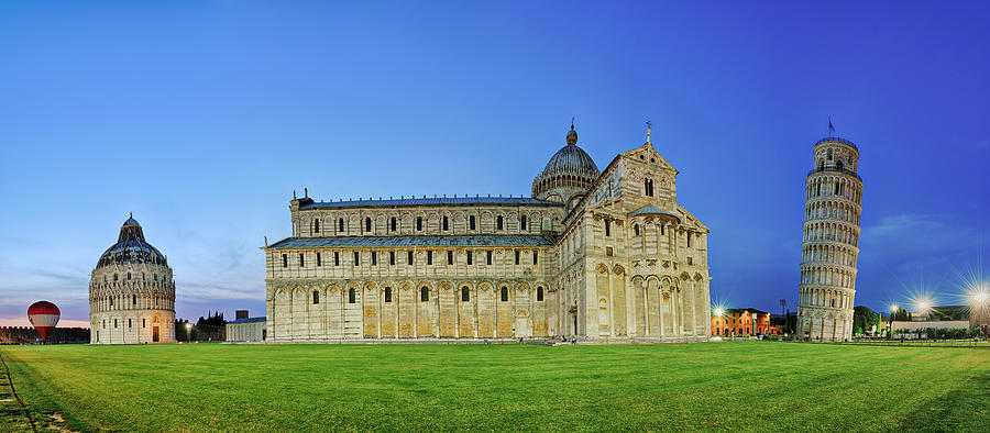 Leaning Tower Of Pisa, Cathedral And Photograph by Martin Ruegner