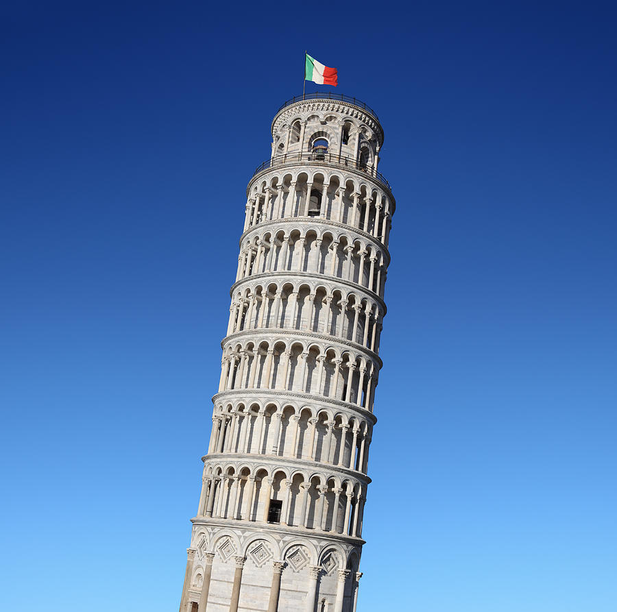 Leaning Tower Of Pisa Photograph by Narvikk