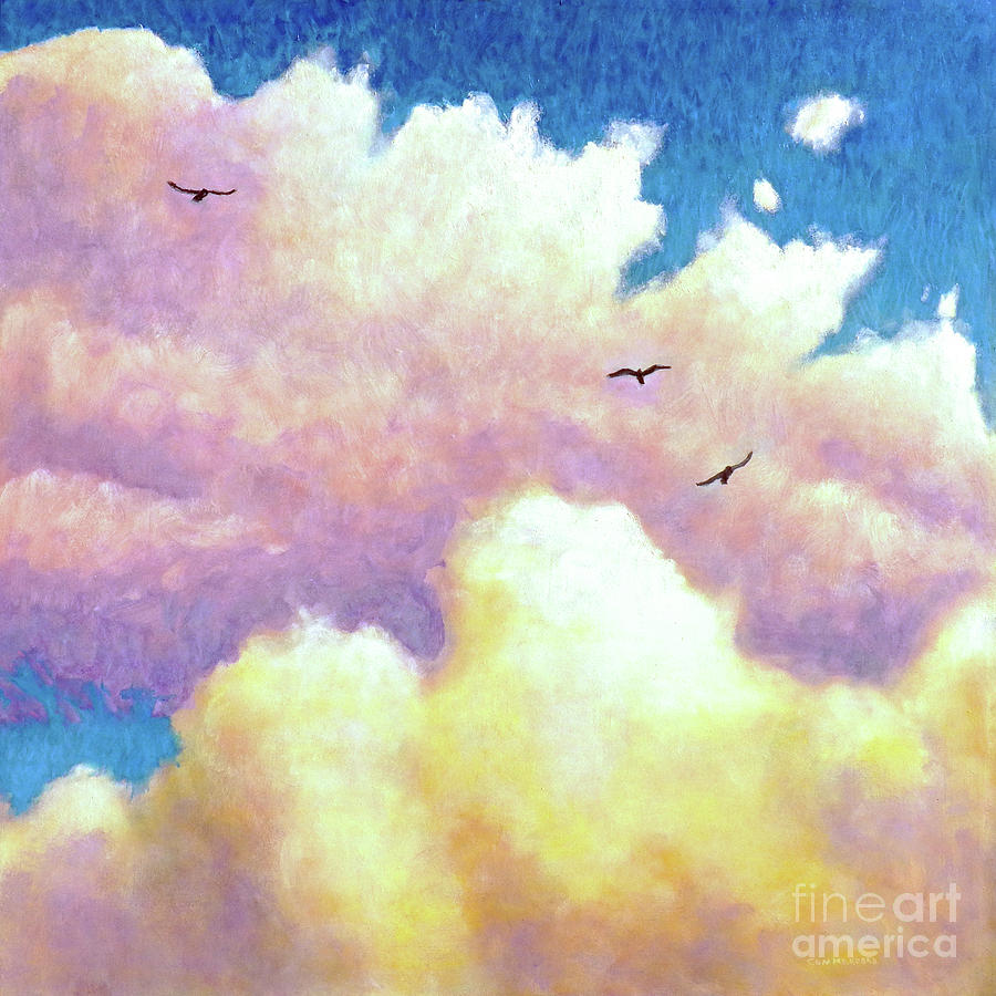 Sky Painting - Leap by Brian Commerford