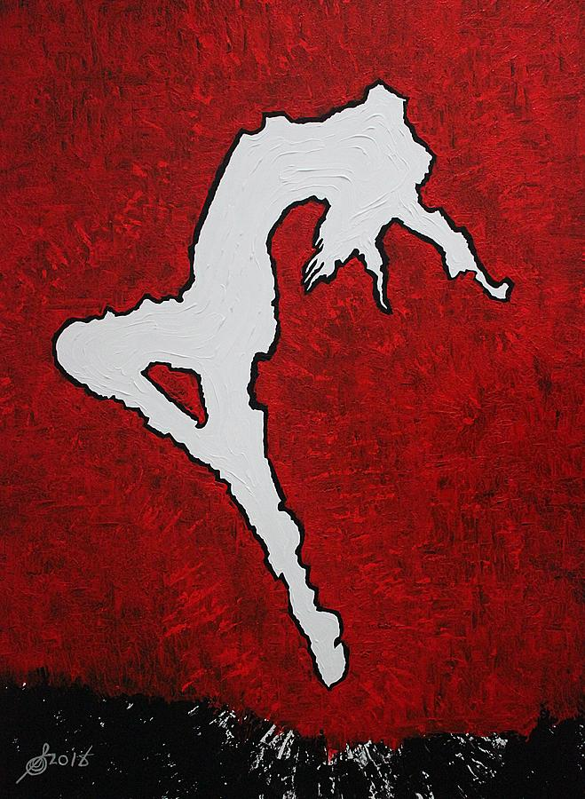 Leap of Faith original painting by Sol Luckman