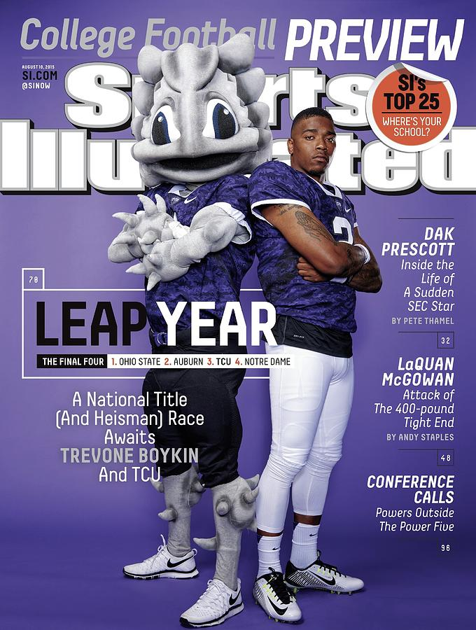 Leap Year 2015 College Football Preview Issue Sports Illustrated Cover Photograph by Sports Illustrated