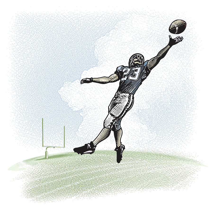 Leaping Catch Digital Art by George Peters