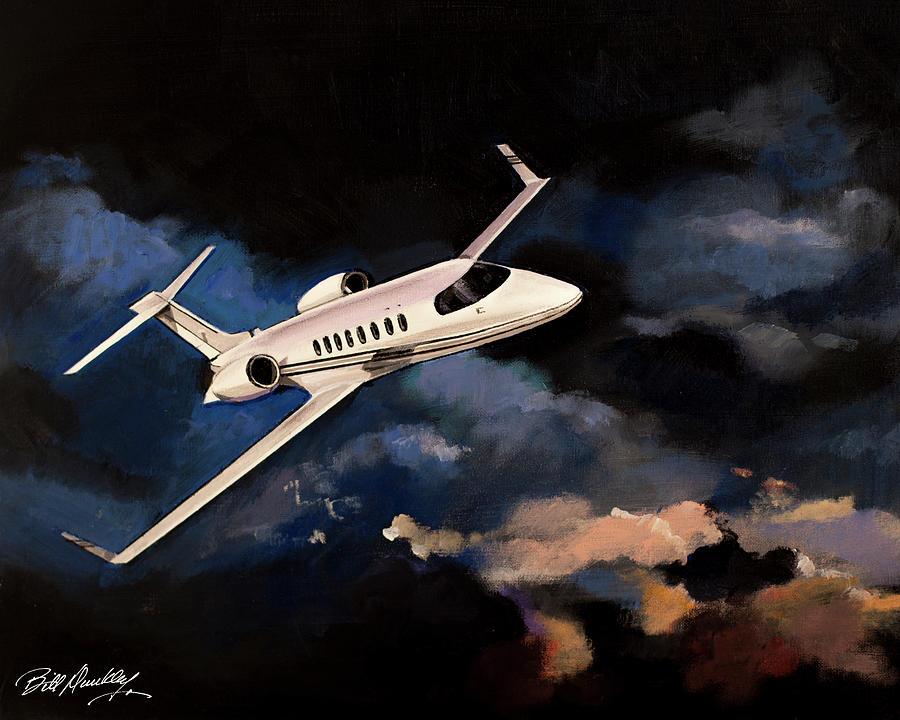 Learjet 45 by Bill Dunkley
