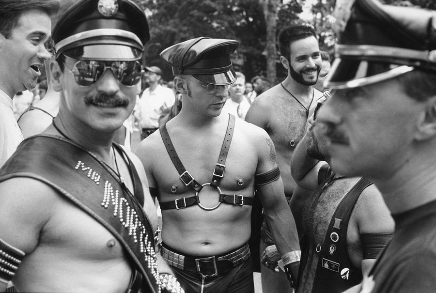 Leather On Gay Pride Day Photograph by Fred W. McDarrah