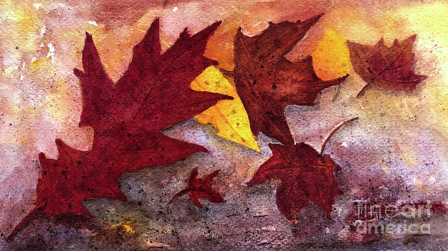 Leaves by Bonnie Young