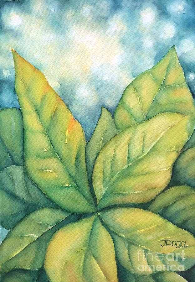 Leaves by Inese Poga