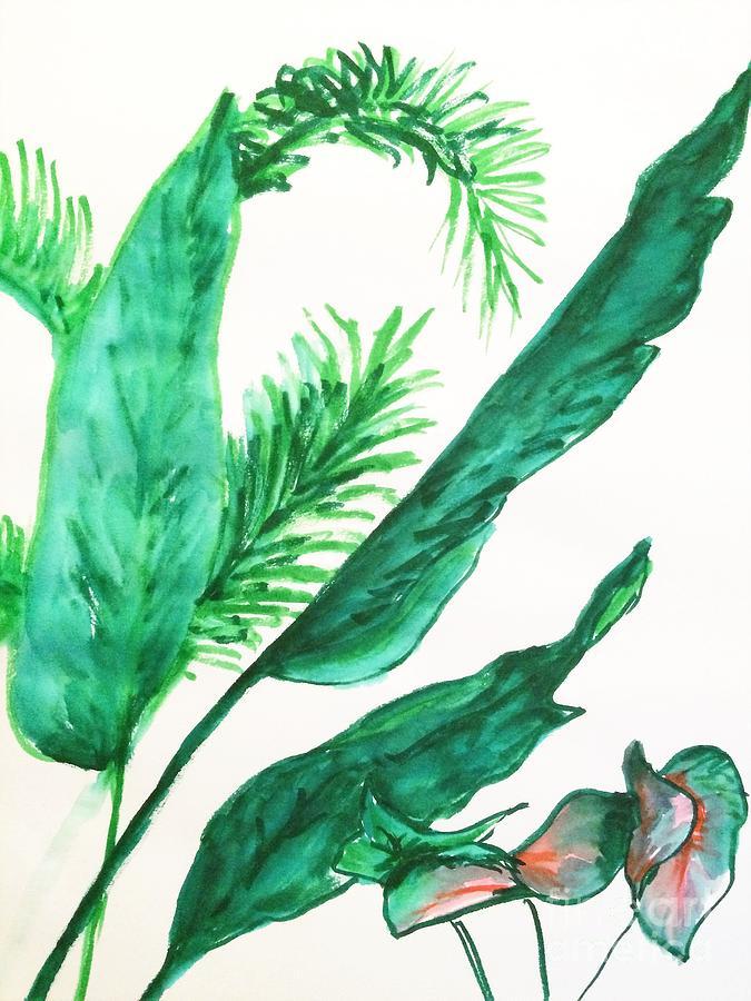 Leaves by Jennifer Thomas