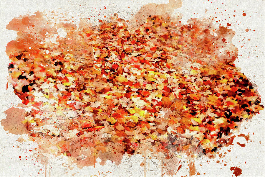 Autumn Leaves 2 by Marilyn Wilson