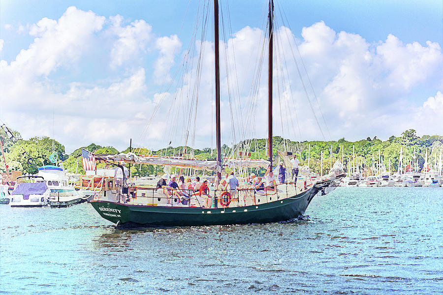 Leaving Port Joyfully by Kathi Mirto