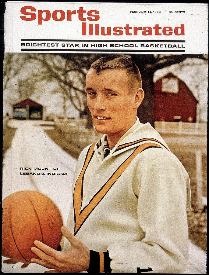 Lebanon High School Rick Mount Sports Illustrated Cover Photograph by Sports Illustrated