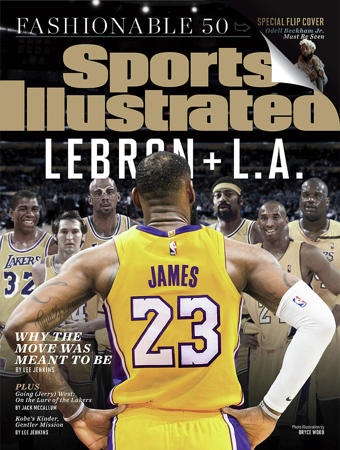 LeBron + L.a. Why The Move Was Meant To Be Sports Illustrated Cover Photograph by Sports Illustrated
