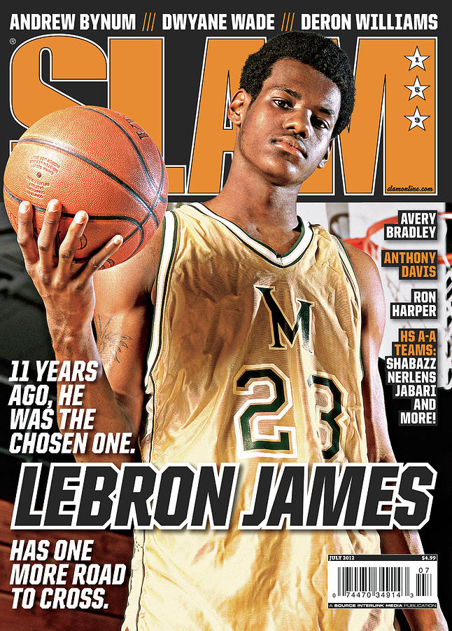 Lebron James: 11 Years Ago, he was the Chosen One. SLAM Cover Photograph by Atiba Jefferson
