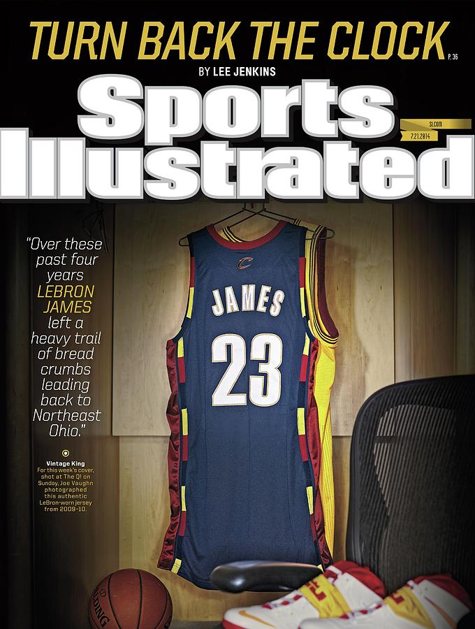 LeBron James Turn Back The Clock Sports Illustrated Cover Photograph by Sports Illustrated