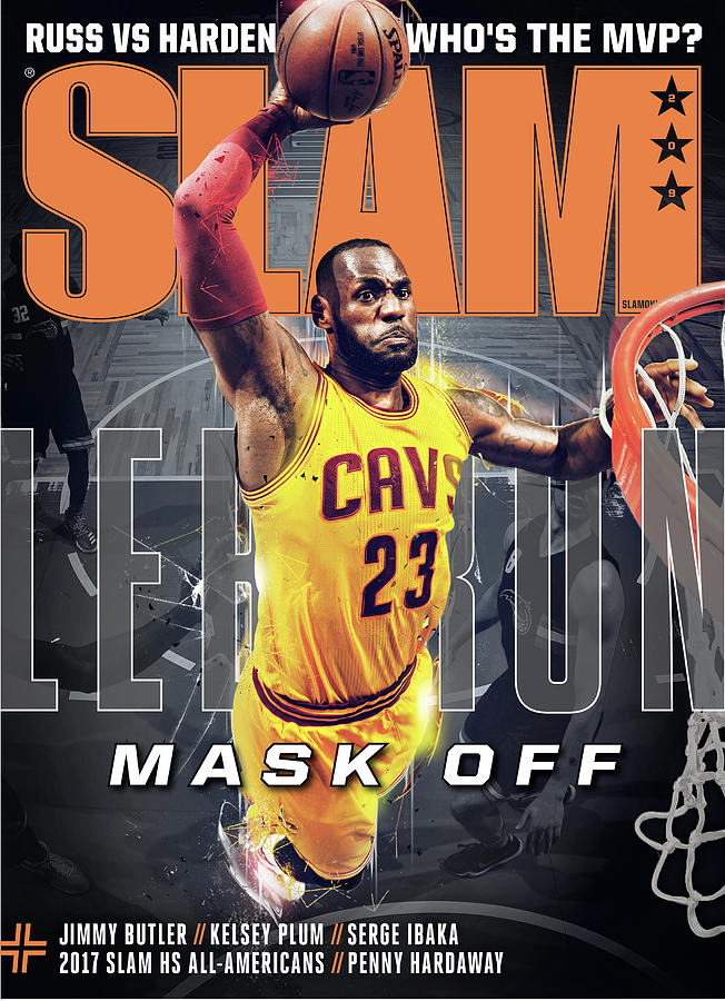 LeBron: Mask Off SLAM Cover Photograph by Getty Images