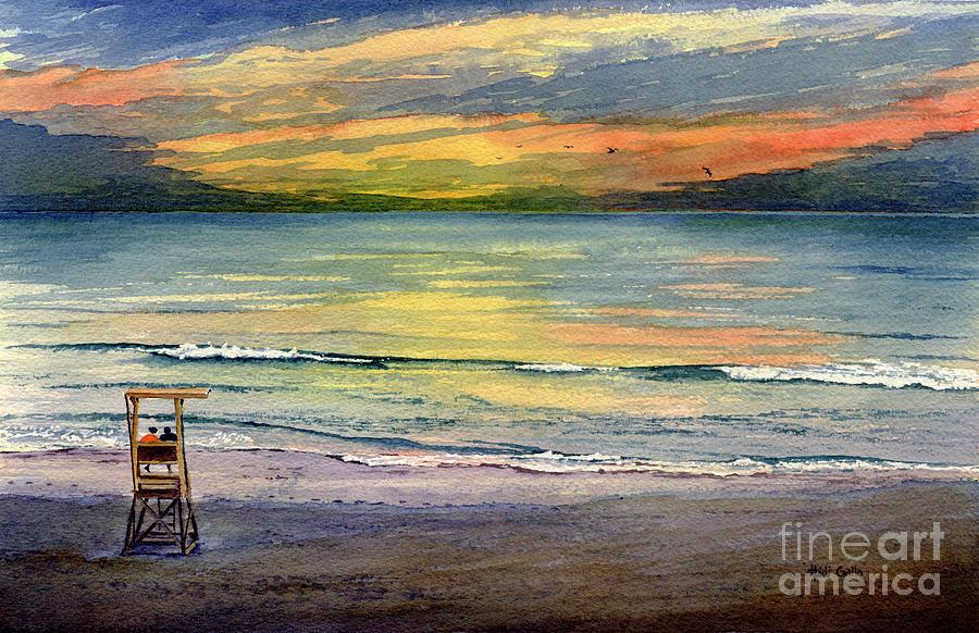 Lecount Hollow Sunrise by Heidi Gallo
