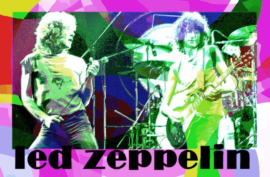 led zepp colorful by 3nki  by Enki Art