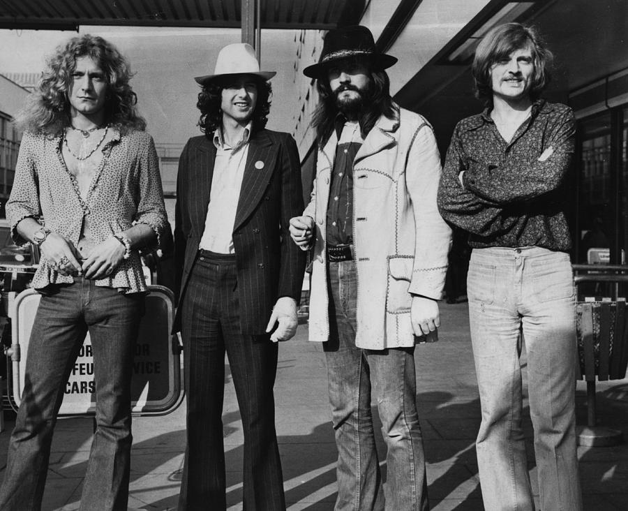 Led Zeppelin Photograph by Evening Standard