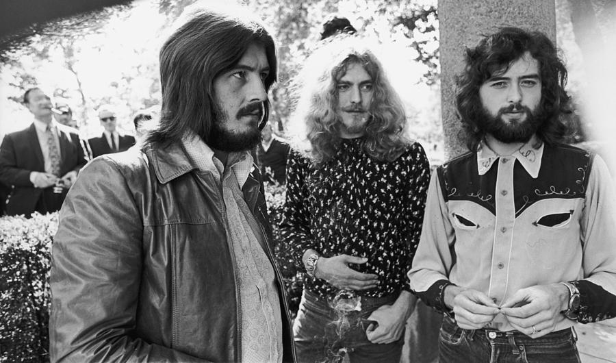 Singer Photograph - Led Zeppelin by Popperfoto