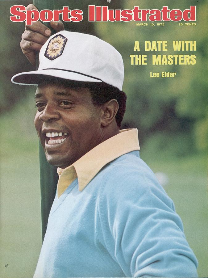 Lee Elder, 1975 Jackie Gleason Inverrary Classic Sports Illustrated Cover Photograph by Sports Illustrated