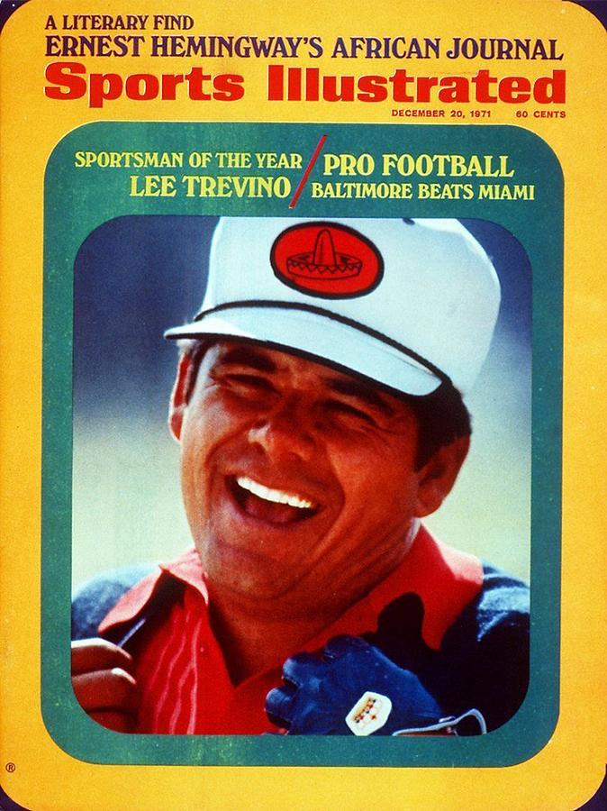 Lee Trevino, 1971 Heritage Classic Invitational Sports Illustrated Cover Photograph by Sports Illustrated