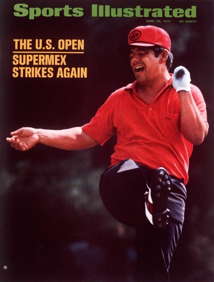 Lee Trevino, 1971 Us Open Sports Illustrated Cover Photograph by Sports Illustrated
